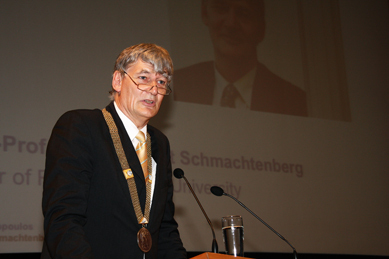 Professor Ernst Schmachtenberg, Rector of RWTH Aachen University