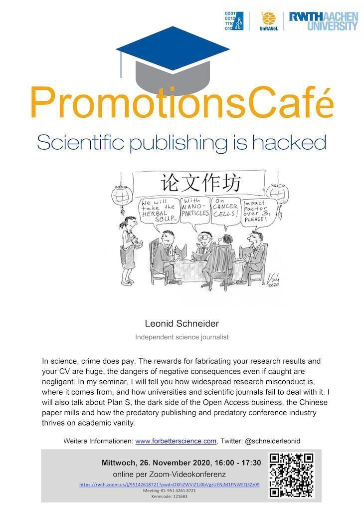 Poster Promotionscafe